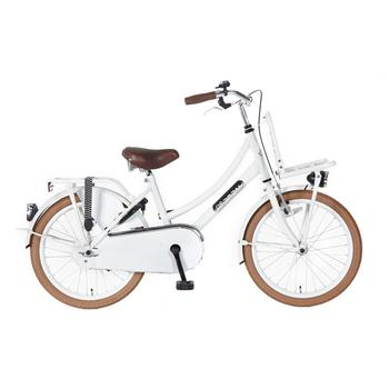Popal Daily Dutch Basic 20inch wit Transportfiets
