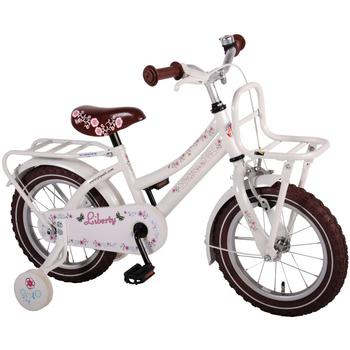 Yipeeh Liberty Urban Transport 14inch wit meisjesfiets