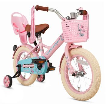 SuperSuper Little Miss 14inch roze meisjesfiets