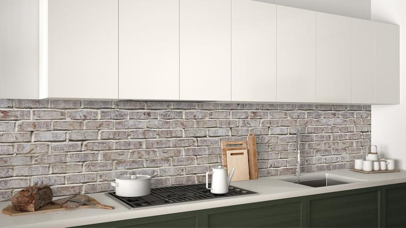 WhiteWashBrickWall•keuken