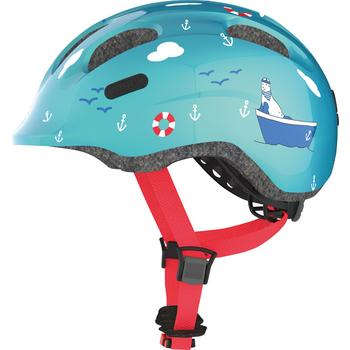 Abus Smiley 2.0 M turquoise sailer kinder helm