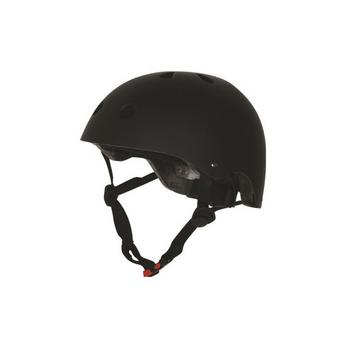 Kiddimoto mat zwart Medium helm