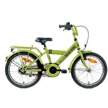 Bike Fun High Risk 12inch groen  jongensfiets