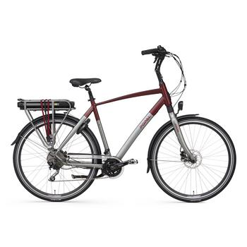 Popal E-volution 13.0 matt-red 57cm elektrische herenfiets