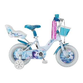 Altec Ice Fairy 12inch wit-blauw meisjesfiets