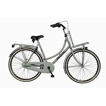 Burgers Pick-Up staal CB 50cm nardo-grey Dames Transportfiets