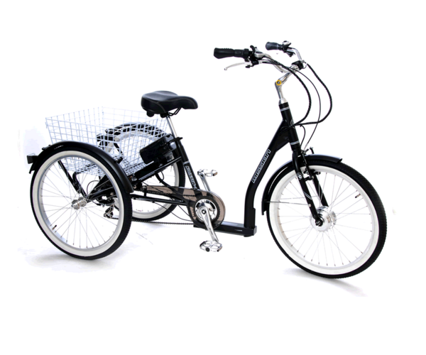 Mission Cycle E-Trike 7-speed elektrische driewieler