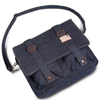 Cort Kansas Messenger Bag denim