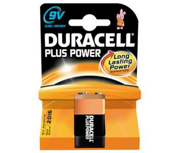Duracell batterij Plus Power 6LR61 9V