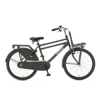 Popal Daily Dutch Basic 24inch army green jongens transportfiets