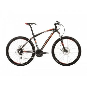 "Rock Machine Heatwave 70 zwart-oranje-wit 46cm 27,5""  Mountainbike"