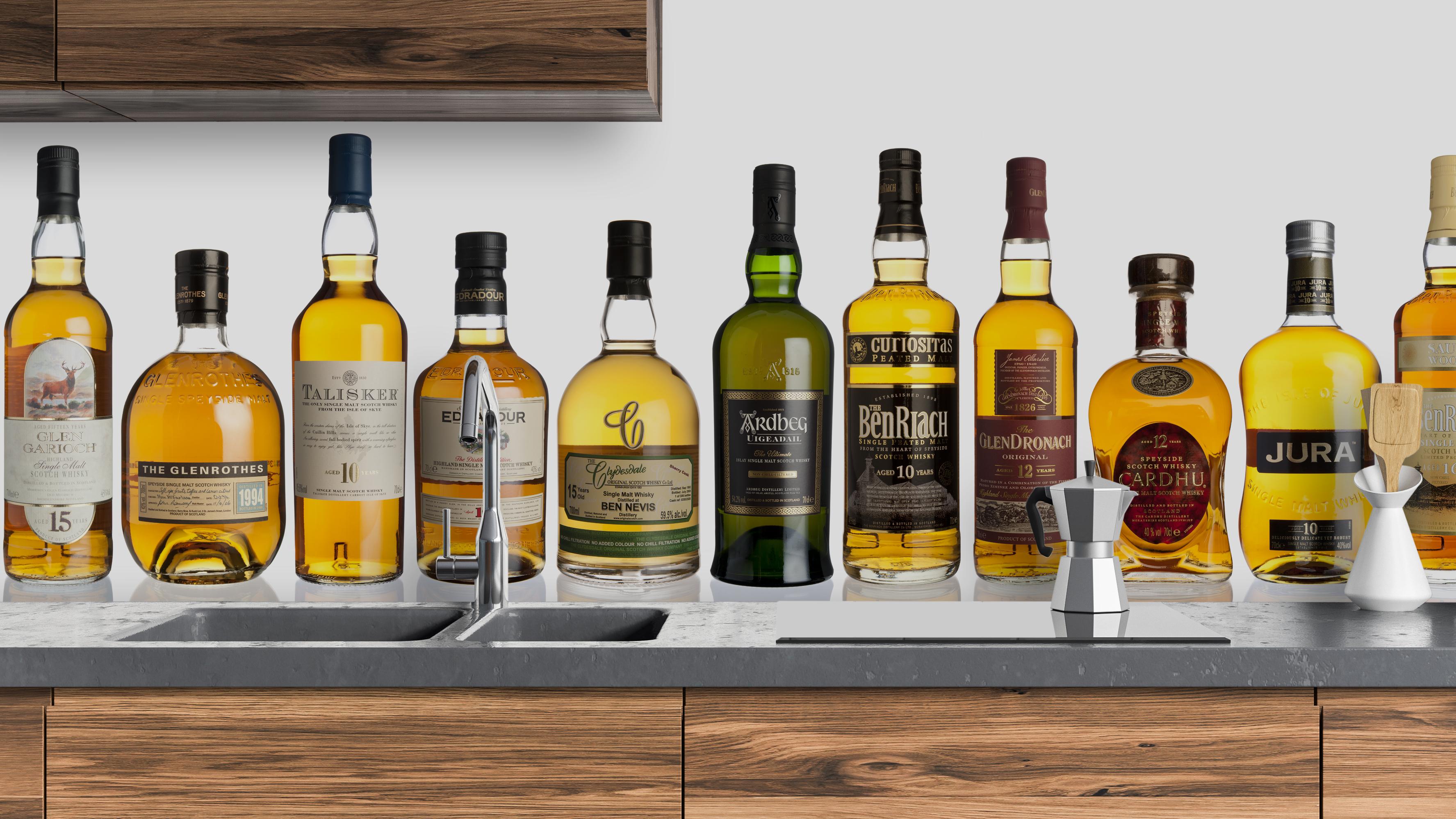Keuken Pimpen Verzameling : Whiskies pimp your kitchen