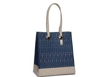 Cortina Minsk Basket Bag Dark Blue