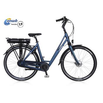 Popal E-volution 5.0 matt-blue 47cm elektrische damesfiets