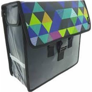 Beck Shopper Colored Triangles