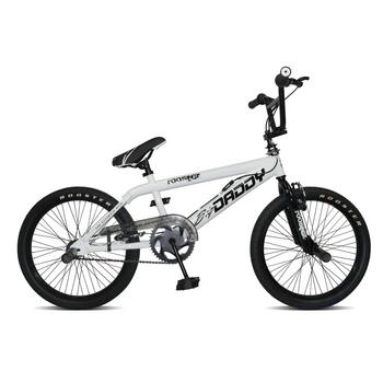 Rooster Big Daddy 20inch wit-zwart Freestyle BMX