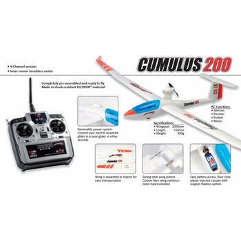 Axion RC Cumulus 200 RTF brushless rc-vliegtuig