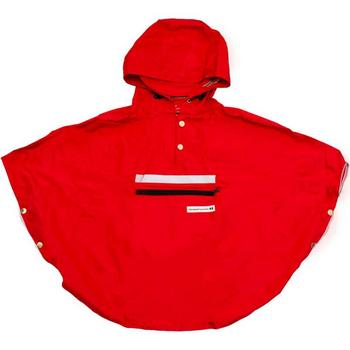Peoples Poncho red kind M