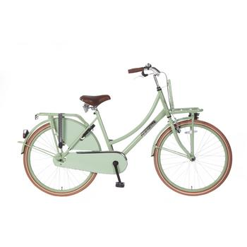 Popal Daily Dutch Basic 26inch pistache groen Transportfiets