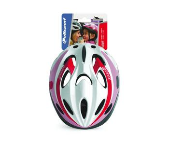 HELM KIND POLISPORT GUPPY XS ROZE/WIT 48-52