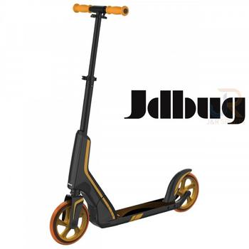 JD Bug Smart 185 Pro Commute zwart-oranje vouwstep