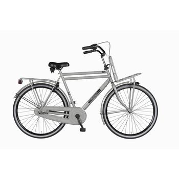 Burgers Pick-Up staal CB 50cm nardo-grey Heren Transportfiets