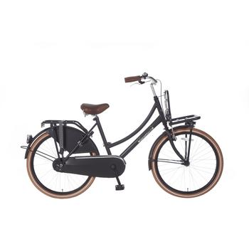 Popal Daily Dutch Basic 24inch matzwart Transportfiets