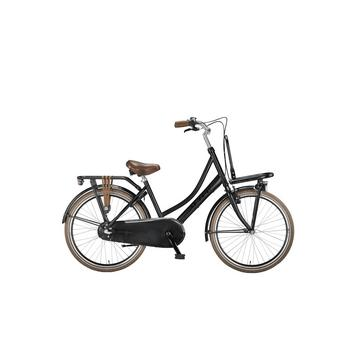 Altec Dutch N3  mat zwart 24inch Transportfiets