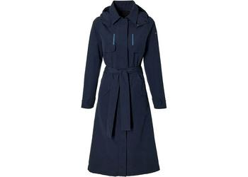 Basil trenchcoat Mosse dames Night Blue M