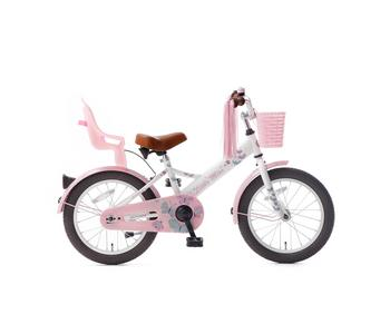 Popal Little Miss 16 :: Wit :: 16 inch