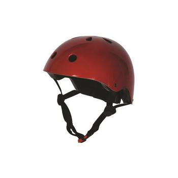 Kiddimoto metallic red Medium helm