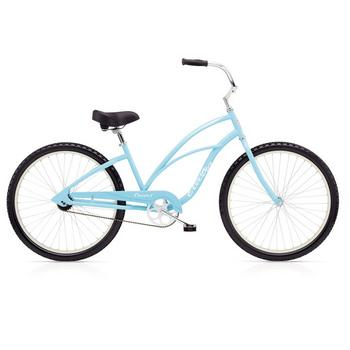 Electra Cruiser 26inch light blue damesfiets
