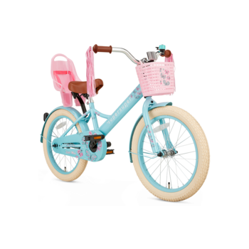 SuperSuper Little Miss 18inch turquoise meisjesfiets