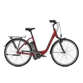 Raleigh Dover 7 winered matt 11Ah 26inch elektrische damesfiets