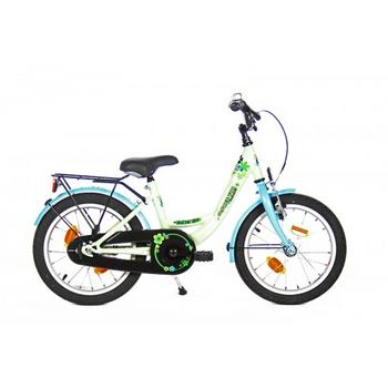 Bike Fun Flower Fun 16inch wit-mint meisjesfiets