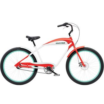 Electra EBC93 3i 26inch rood-wit heren Cruiser
