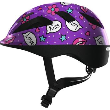 Abus Smooty 2.0 M purple kisses kinder helm
