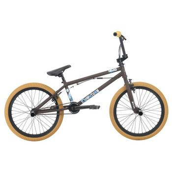Haro Downtown DLX matt rootbeer 20inch Freestyle BMX