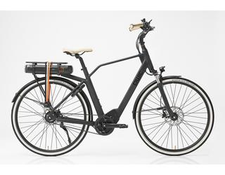 Qwic E-bike Premium  MA8 Tour Heren Middenmotor Matte Black