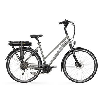 Popal E-volution 14.0 iron-grey 53cm elektrische damesfiets
