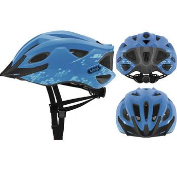 Abus S-Cension L diamond blue fiets helm