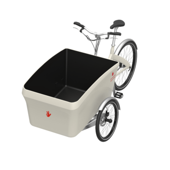 Triobike Boxter wit bakfiets