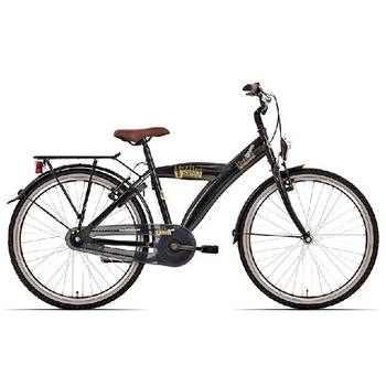 Bike Fun Urban 24inch zwart  jongensfiets