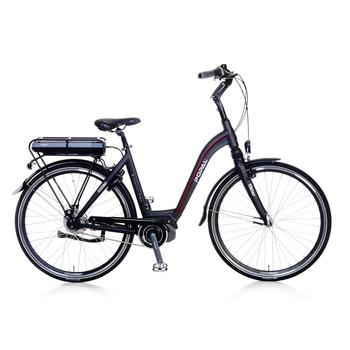 Popal E-volution 9.0 matt-black 53cm elektrische damesfiets