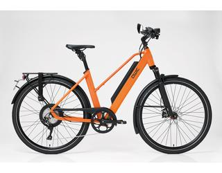 Qwic E-bike Performance RD11Speed Dames Achterwielmotor Dutch Orange