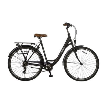 Altec Metro 7-speed 49cm matzwart damesfiets
