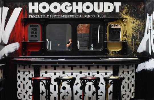 Exhibition stand - Family Distillery Hooghoudt