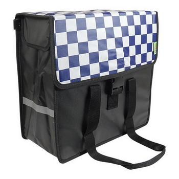 Beck Shopper Navy Checker
