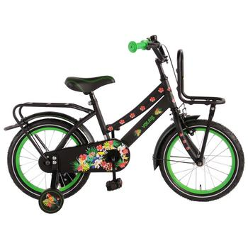 Volare Tropical Urban Transport 16inch zwart meisjesfiets