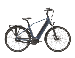 Qwic E-bike Premium i MN7+ Heren Middenmotor Midnight Blue